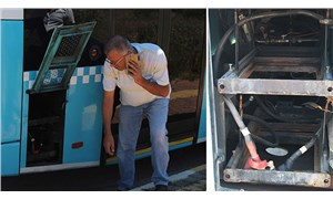 Şaka sandı, gerçek çıktı: Yolcu otobüsünün aküsü çalındı