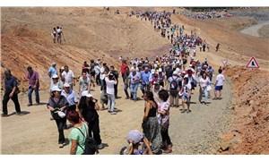 Munzur Koruma Kurulu'ndan Su ve Vicdan Nöbeti'ne dayanışma ziyareti