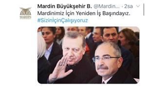 Kayyum darbesi yapılan belediyelerin siteleri erişime kapatıldı: Twitter'dan Erdoğan'ın fotoğrafı paylaşıldı