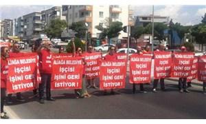 Aliağa Belediyesi'nde işten atılan 19 işçi ifadeye çağrıldı