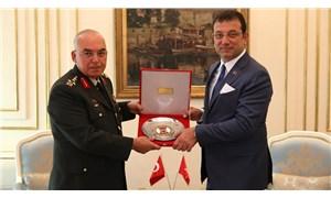 1'inci Ordu Komutanı Aysever'den İmamoğlu'na tebrik ziyareti