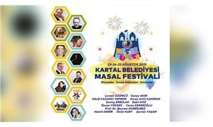 Kartal Belediyesi'nden 'Masal Festivali'