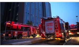 Küçükçekmece'deki hastane yangını söndürüldü