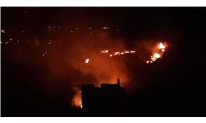 Samandağ'da orman yangını