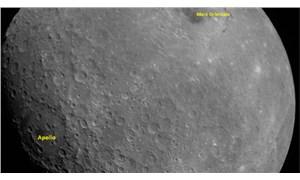 Hindistan'ın uzay aracı Ay'dan ilk görüntüsünü paylaştı
