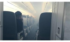 İçerisi dumanla dolan uçak acil iniş yaptı: 7 yolcu yaralandı