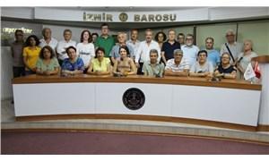 İzmir'de 36 kurumdan ortak 'kayyum' deklarasyonu