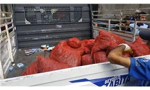 Beyoğlu'nda kaçak midye imalathaneleri mühürlendi