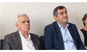CHP milletvekili Ali Şeker ve CHP Parti Meclisi üyesi İlhan Cihaner'den Ahmet Türk'e ziyaret