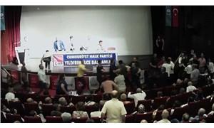 CHP'nin Bursa toplantısında kavga