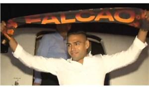 Galatasaray'ın yeni yıldızı Falcao İstanbul'da
