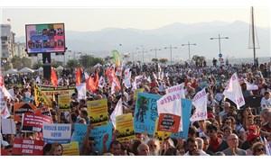 İzmir'de 1 Eylül mitingi: Barış için ayağa kalkalım