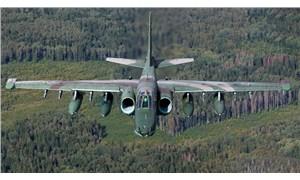 Rusya'da SU-25 savaş uçağı düştü