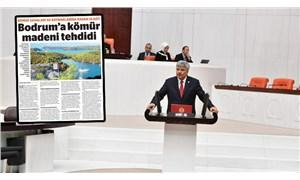'Bodrum'a kömür madeni tehdidi' Meclis gündeminde
