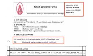 Yeni Şafak, İmamoğlu'nu eleştireyim derken AKP döneminin ultra lüks araç ihalesini yayınladı