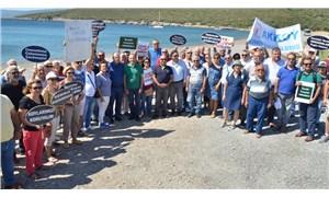 Urla'da orkinos çiftliklerine 'Hayır'
