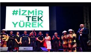 """""""Orman İzmir"""" dayanışma konserine on binler katıldı"""