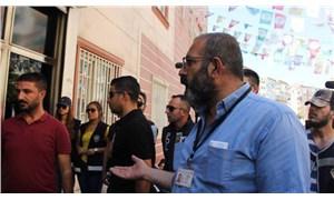 Kalp hastası da çareyi HDP'nin önünde aradı