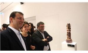 İmamoğlu, 16. İstanbul Bienali'ni ziyaret etti