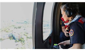 Helikopterli denetimde, 30 sürücüye 20 bin TL ceza