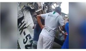 Kolombiya'da uçak düştü: 7 ölü, 3 yaralı