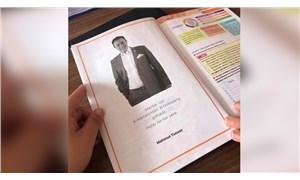 Mahmut Tuncer, tam sayfa eğitim kitabına girdi