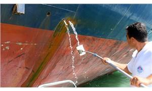Akdeniz'i kirleten gemilere 14,5 milyon lira ceza