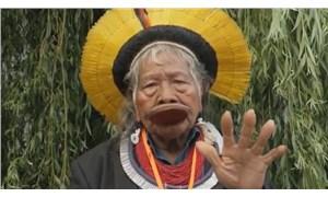 Amazon yağmur ormanlarını koruyan Kayapó kabilesinin şefi Nobel'e aday gösterildi
