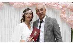 Samsun'da bir çift nikah törenini huzurevinde yaptı