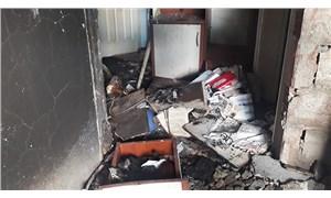 Buzdolabı patladı: 1 yaralı