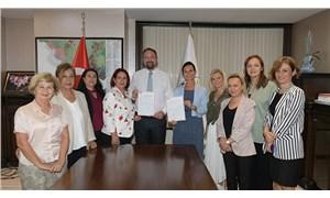 """Çiğli Belediyesi """"Kadın Dostu Kentler Taahhütnamesini"""" imzaladı"""