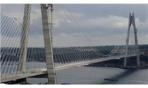 Yavuz Sultan Selim köprüsü için 3 soru önergesi: 10 milyon araç kayıp