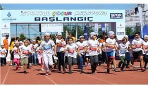 Çocuklar İstanbul'da dünya rekoru kırdı