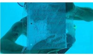Su altında evlilik teklif ederken boğularak hayatını kaybetti