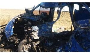 Ukrayna'da akaryakıt tankeriyle yolcu otobüsü çarpıştı: 9 ölü, 11 yaralı