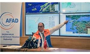 AFAD Deprem Dairesi Başkanı: Silivri açıklarında meydana gelen depremin 15 artçısı var