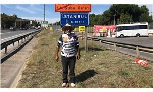 Hasta oğlu için Adana'dan İstanbul'a yürüdü