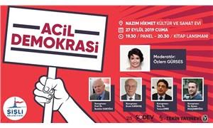 Tekin Yayınevi'nden 'Acil Demokrasi' paneli