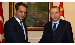 Yunanistan Başbakanı Miçotakis'ten Erdoğan'a 'kapıları açarız' eleştirisi