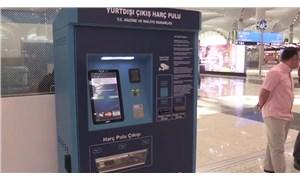 İstanbul Havalimanı'nda harç pulu otomatı para üstü vermiyor