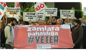 """ÖDP İzmir'de zamlara ve hayat pahalılığına karşı sokağa çıktı: """"Emeğiyle geçinenler yoksulluğa mahkum ediliyor"""""""