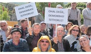 """Protesto  OHAL döneminde de hak"""
