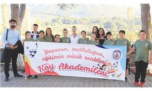 Selçuk Efes'te Köy Akademisi deneyimi: Köy çocuklarını sanat ile buluşturacaklar