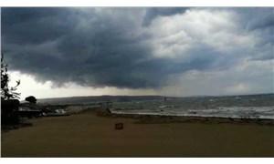 Çanakkale'de şiddetli fırtına
