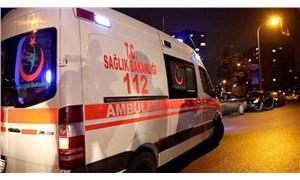 İnşaat işçilerini taşıyan kamyonet devrildi: 1 ölü, 13 yaralı
