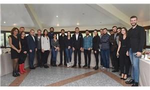 Beşiktaş Belediye Başkanı Akpolat basın temsilcileriyle bir araya geldi