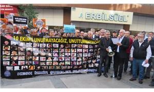 10 Ekim Katliamı'nda yaşamını yitirenler İzmir'de anıldı