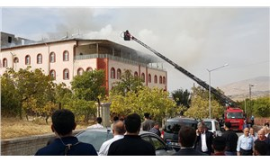 Siirt'te Kuran kursunda yangın