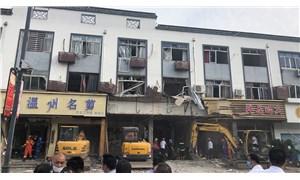 Çin'de restoranda patlama: 6 ölü, 9 yaralı