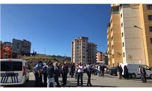 Rize'de AKP'li belediye siteye ait alanı karayollarına sattı, site sakinleri yol kapatma eylemi yaptı